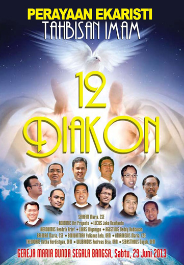 Tahbisan Imam Keuskupan Bogor