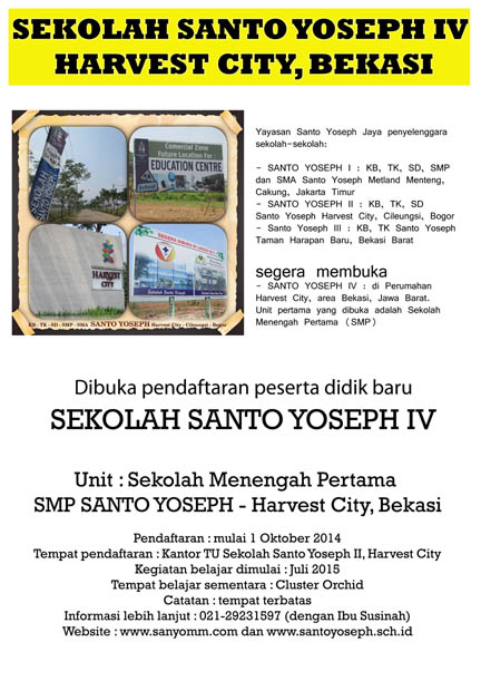 Info SMP SanYo Harvest (1)