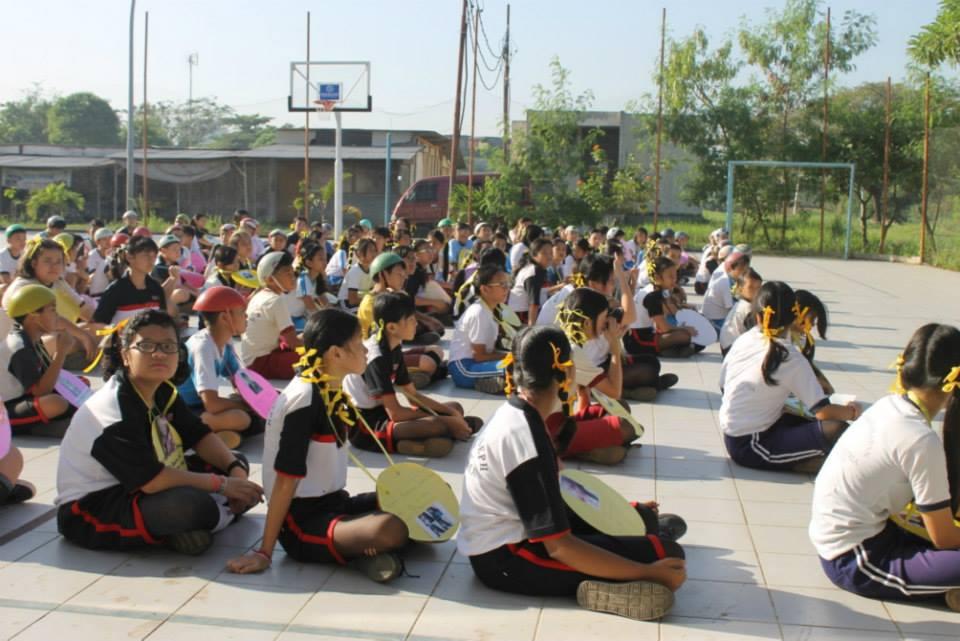 Siswa baru SMP Santo Yoseph Metland mengikuti Masa Orientasi Siswa