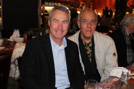 1. Yohannes Sugiyono Setiadi dan Tony Hirst (Principal Emmaus College). Foto 2014