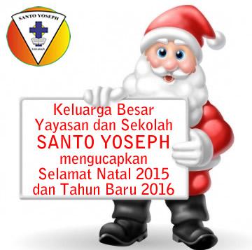 Selamat Natal 2015 dan Tahun Baru 2016